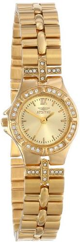 Invicta Women's 0134 Wildflower Collection 18k Gold-Plated C