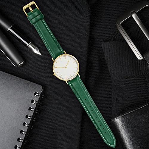 Release Band, Fullmosa Axus Genuine Watch Strap Green-GD