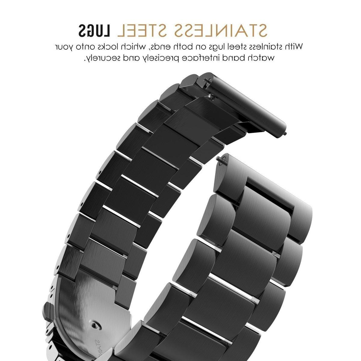 18mm Stainless Steel <font><b>Watch</b></font> Strap For S3 <font><b>Watch</b></font> bracelet For S2 Replacement