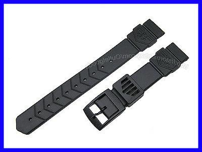 18mm rubber watch band strap for midsize