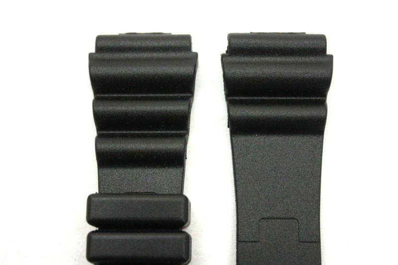 20mm for Black Rubber Wind Watch Band