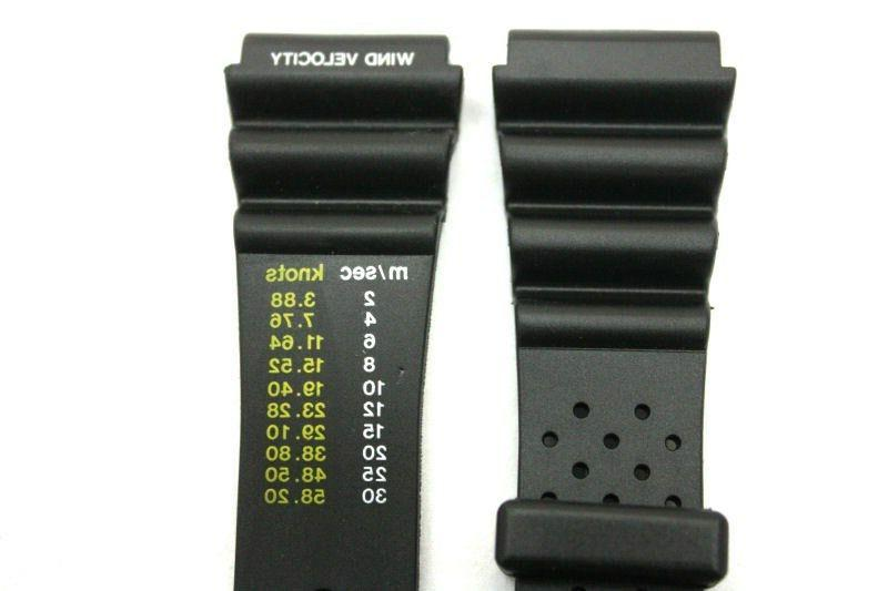 20mm for Black Rubber Watch Band