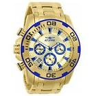 Invicta 22320 Men's Pro Diver Gold Dial Yellow Gold Steel Ch