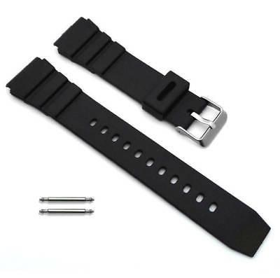 black rubber silicone diver s style replacement