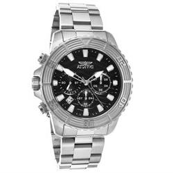 Invicta 23998 Men's Pro Diver Chronograph Stainless Steel Bl