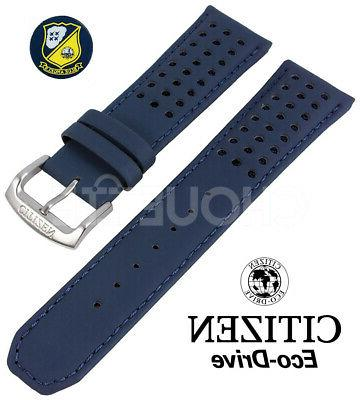 23mm blue angels leather watch strap band