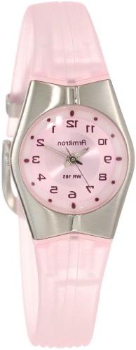 Armitron Sport Women's 25-6355PNK Pink and Silver-Tone Easy