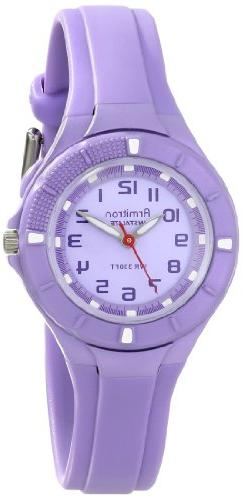Armitron Sport Women's 25/6416LAV Easy-to-Read Dial Lavender