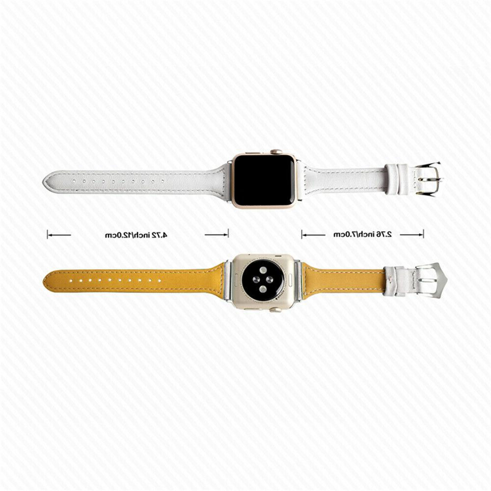 38/40mm Leather Band Apple 4