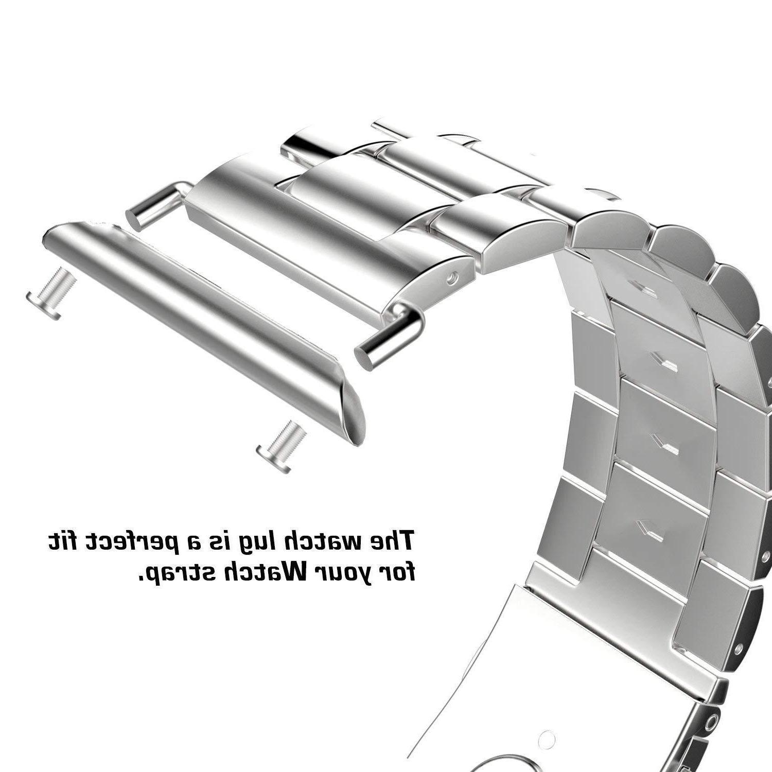 38mm/42mm Watch Adapter Stainless Apple Watch iwatch