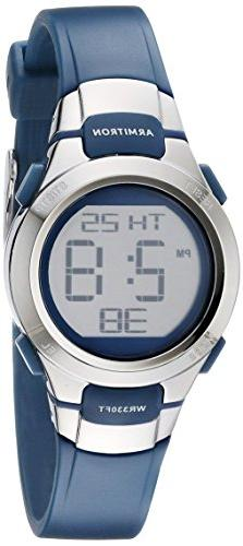 Armitron Sport Women's 45/7012NVSV Digital Watch with Matte