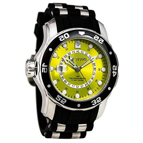 6988 diver collection gmt yellow