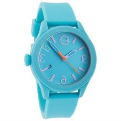 ESQ Movado 7101432 ESQ One Turquoise Silicone and Dial Short