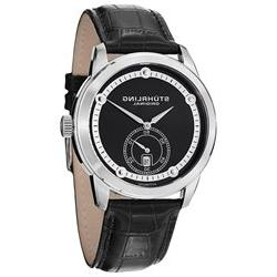 Stuhrling Original Men's 720.02 Circuit Date Black Watch
