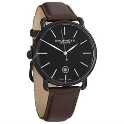 Stuhrling Original Men's 768.03 Agent Date Brown Watch