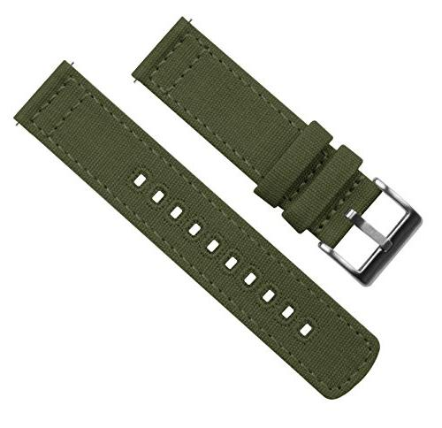 Barton Watch Band Straps Choose - 18mm, 20mm, - Army