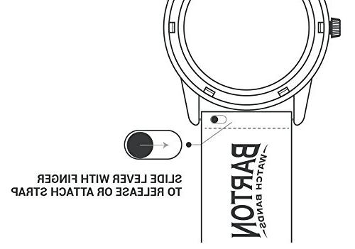 Barton Watch Straps Choose Color - - 18mm