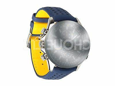 Citizen 23mm Blue Leather Watch for Blue Angels AT8020-03L H800-S081165