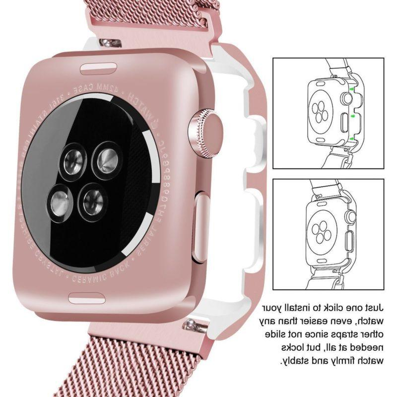 Milanese Stainless Steel iWatch Band Apple
