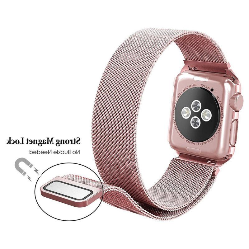 Milanese Stainless Band Apple Watch Series 3/2/1