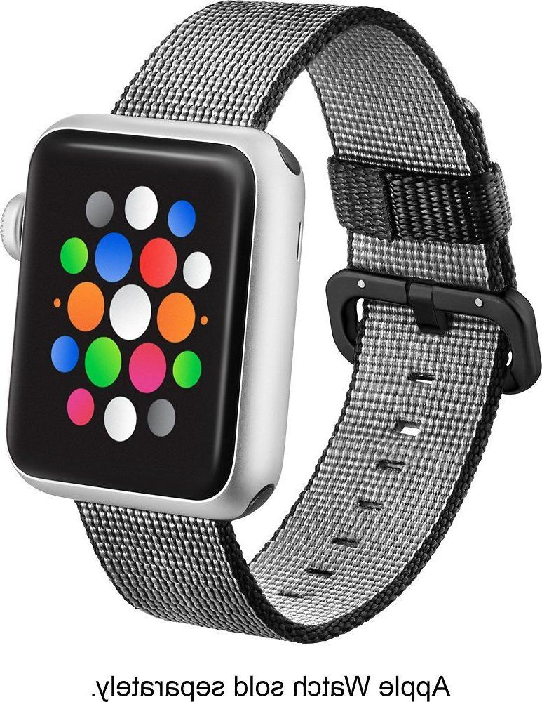Modal - Woven Nylon Band Watch Strap for Apple Watch 38mm -