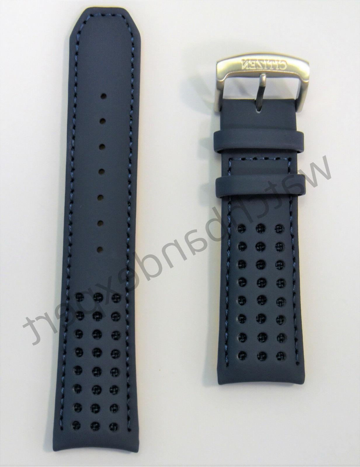H800-S081165 Blue Angels Leather Band