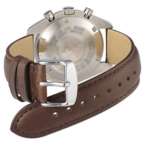 WOCCI Watch - Dark Leather Silver Buckle