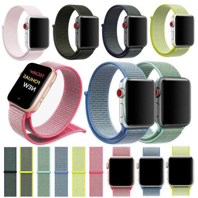 Woven Apple iWatch 4/3/2/1