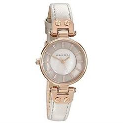 AK Anne Klein AK 1950RGTP Womens Rose Gold Tone and Taupe Le
