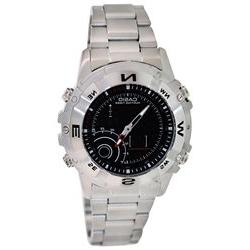 Casio Men's AMW705D-1AV Silver Stainless-Steel Quartz Watch
