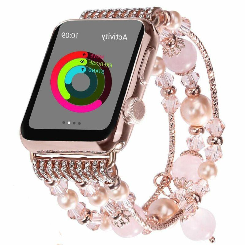 Apple Watch 40/44MM Bling Bracelet 3/2/1-38/42