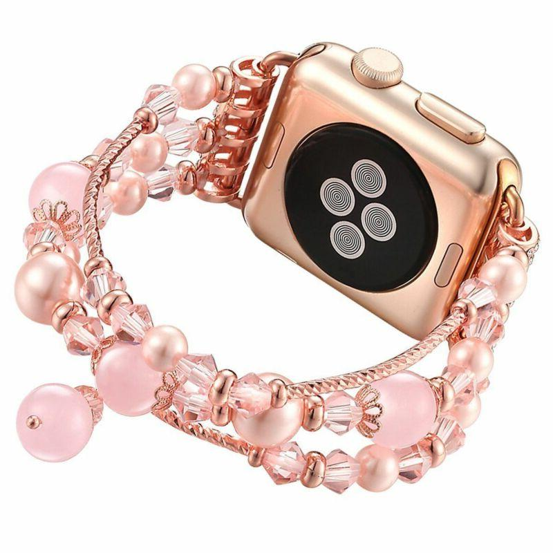 Apple Watch Bling Agate Bracelet iWatch 3/2/1-38/42