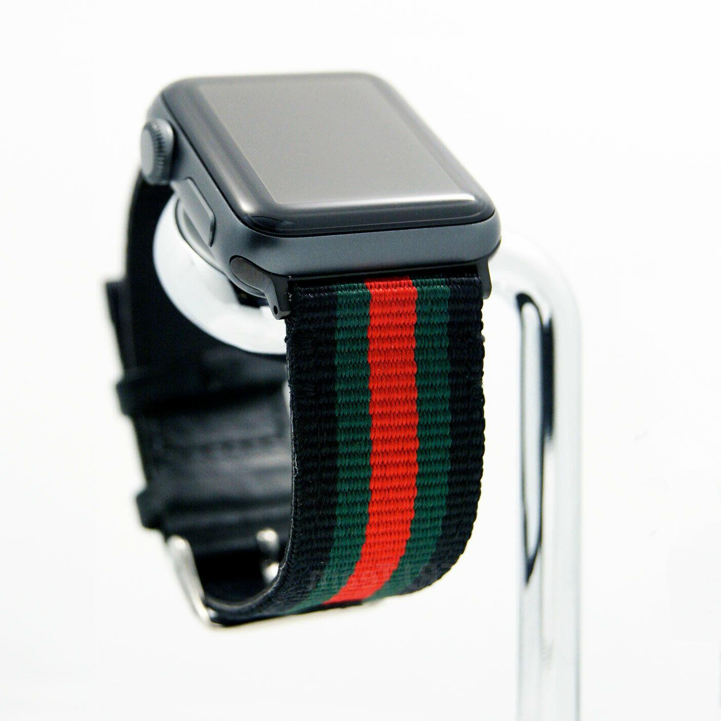 Apple Watch Stripe Replacement Leather Strap 38/40/42/44 mm 1/2/3/4/5