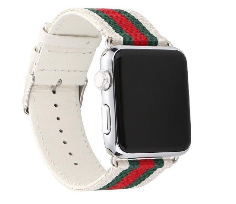 Apple Watch Strap Gucci Sport Leather Band 42mm