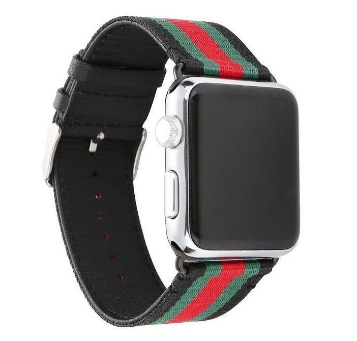 Apple Band Gucci Pattern Sport Replacement Leather