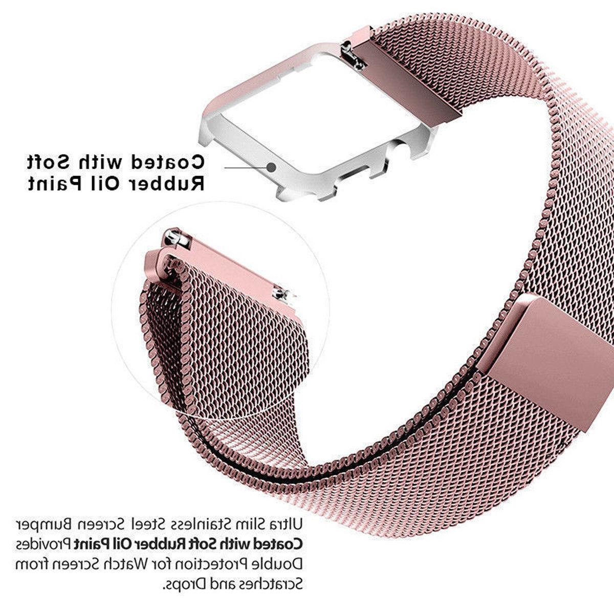 For Apple Series 3/2/1 Milanese Stainless Watch Strap