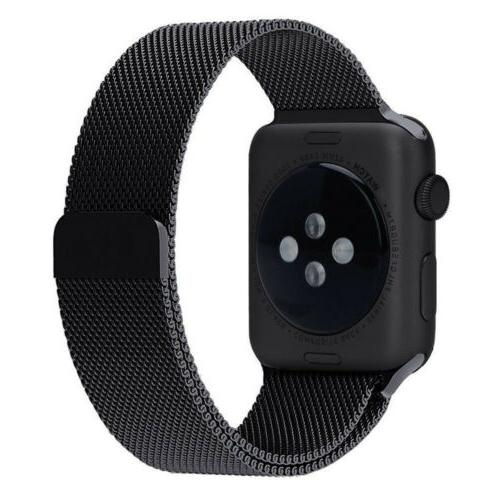 For 4 40mm Milanese Loop Steel
