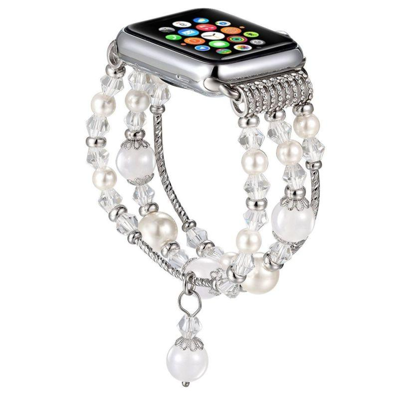 4 44MM Bling Beads iWatch