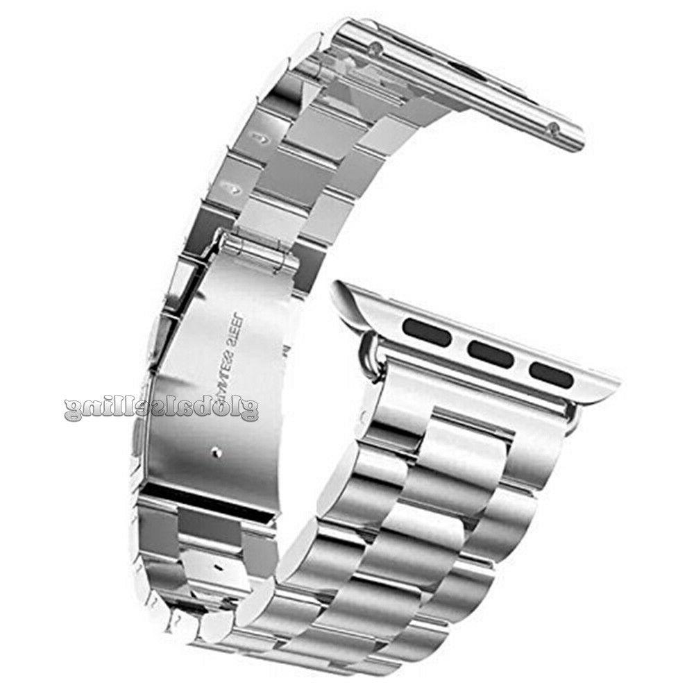 Apple Watch Stainless Wrist iWatch Band Case
