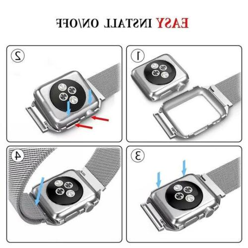 For Watch 5 4 3 1 +Case+Screen