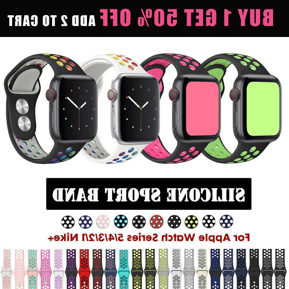 apple watch sport band silicone iwatch