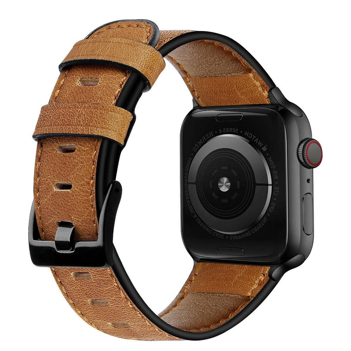 Authentic Leather Apple Band 38/40mm 4 1 *FREE SAME