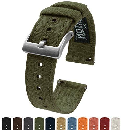 barton canvas quick release watch band straps