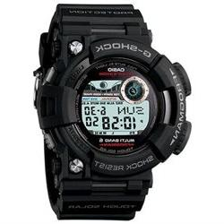 Men's Black Casio G-Shock Frogman Tough Solar Power Watch GW
