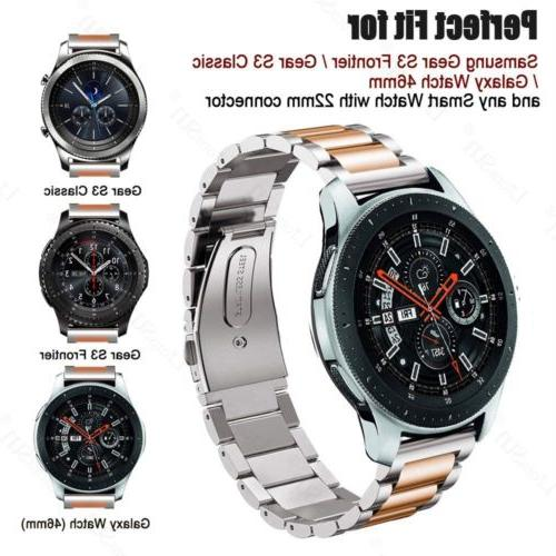 Stainless Steel Strap Watch S3 46mm Watch
