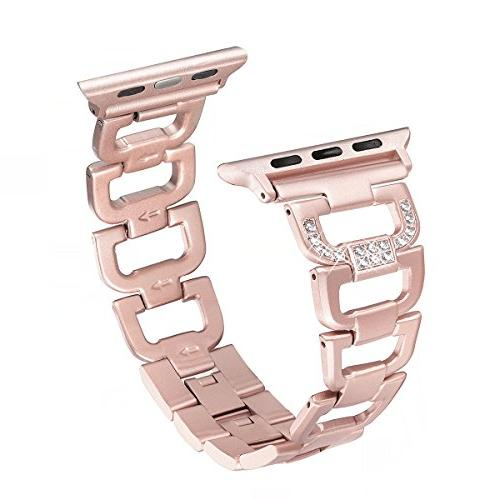 bling band compatible apple watch band 42mm