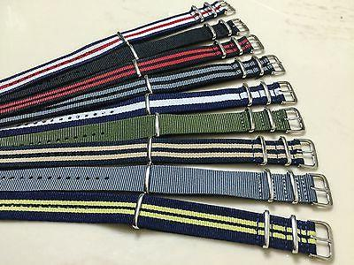 """Canvas 18mm 22mm Nylon Military TIMEX Weekender """"Style""""USA"""