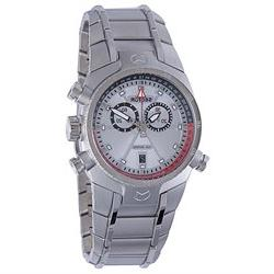 Sector Men's Chronograph Silver/Silver Stainless Steel Watch