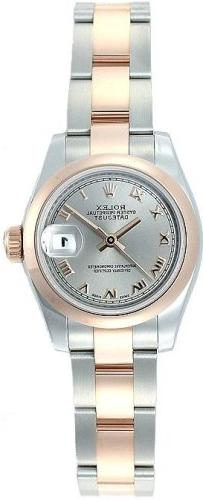 datejust steel rose gold watch