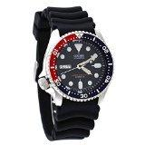 Seiko Divers Automatic Black/Blue Dial Black Rubber Mens Wat